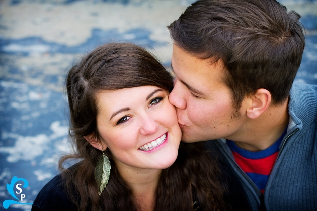 Provo Engagement Photography, Cute couple, cute pose, Silverstrand Photography