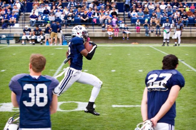 BYU Football receiver - Michael Davis
